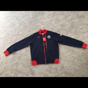 Nike Team USA Basketball Tech Fleece Jacket Large